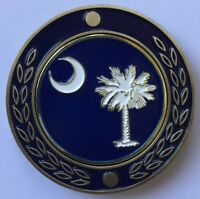 NEW South Carolina Pocket Coin With removable Golf Ball Marker See Pics