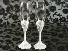 Eleganza Toasting Glass Set Wedding Toast Glasses Flutes