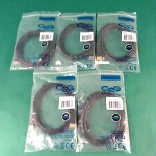 Lot of 5 Mini-HDMI to HDMI  6 FT C2G 40163 cables.