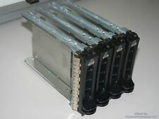 Lot of 4 Dell Server Hard Drive Caddy - Sas Sata Cn-0F9541 or 0F9541 or 69146 or