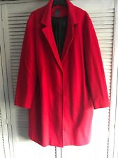 primark red winter coat size 20