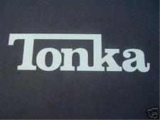 TONKA- JEEP  VINYL CAR WINDOW STICKER DECAL 3X6