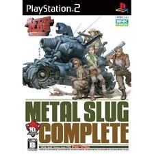 Used PS2 Metal Slug Complete Japan Import