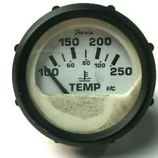 Faria Boat Temperature Gauge | Black #2