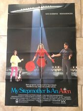 MY STEPMOTHER IS AN ALIEN 1988 ORIG MOVIE POSTER KIM BASINGER