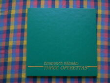 EMMERICH KALMAN three Operettas csardasfürstin Wallenius Lines opera Line CD