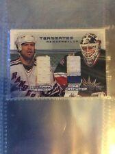 Mark Messier/Mike Richter BAP Be A Player 2000 Teammates New York Rangers Card