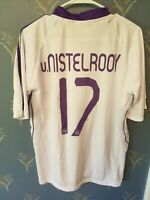 REAL MADRID RUUD VAN NISTELROOY SPORT LIFE JERSEY 2007-2008 SIZE Large L