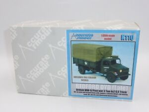 Accurate Armour 1:35 British Bedford OYD 3 Ton 4x2 GS Truck (Late) Resin Kit