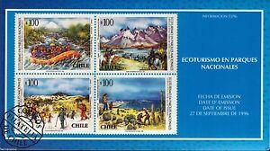 Chile 1996 Brochure Ecoturismo en Parques Nacionales