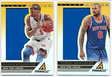 2013-14 PANINI PINNACLE CLEAR VISION KNICKS LOT OF 2 AMARE STOUDAMIRE CHANDLER