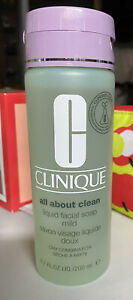 Clinique Liquid Facial Soap Mild Dry Combination - 6.7oz