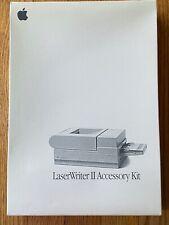 OEM Vintage 1991 Apple LaserWriter II Accessory Kit - AS-IS Untested