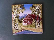 Vintage Ceramic Tile made in Germany