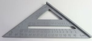 Johnson RAS-1  7-inch Cast Aluminum Powder Coated, CNC-cut, Rafter-Angle Square