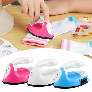 Mini Heat Press Machine Small Electric Iron Shoes Hats Heat Transfer Craft