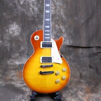 1959 Style LP CustomElectric Guitar Flamed Maple Top Maple Fingerboard