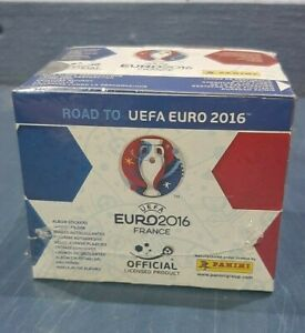 ROAD TO EURO 2016  Panini complete 50 packs , Total of 250 stickers