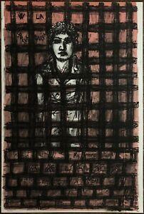 """TONO ZANCANARO litografia """"Para Espana"""" 60x40 firmata numerata 1976 pubblicata"""