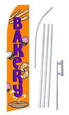 Bakery Banner Flag Feather Flutter Advertising Sign15 Starter Kit