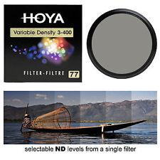 Hoya 77mm Variable Neutral Density 3-400 Filter