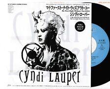 "CYNDI LAUPER My First Night Without You JAPAN PROMO-ONLY 7"" VINYL QY.5P-90051"