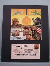 Honoring The U.S. Armed Forces Veterans of Desert Storm & First Day Cover