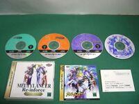 Sega Saturn -- Melty Lancer Re-inforce Special Edition -- *JAPAN GAME !!*  20372