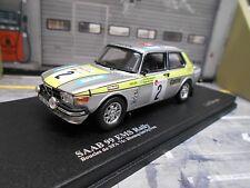 SAAB 99 EMS Rallye Boucles Spa 1976 Winner #2 Blomqvist Sylvan 504p Trofeu 1:43