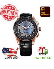 New Seiko Astron Solar GPS SSE105 Novark Djokovic LIMITEDEDITION Titanium Watch
