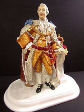 Royal Doulton Figurine King George III HN5746 Hand Signed Michael Doulton #74