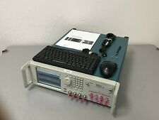 Tektronix Awg70002a Arbitrary Waveform Generator 10 Ghz 2 Ch Up To 25 Gss