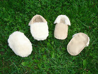 Native American Indian Cute Baby Moccasins Reversible  Regalia Pow Wow