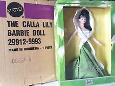 Barbie Doll Calla Lily NRFB LTD 29912 Limited Edition