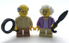 LEGO NEW GRANDPARENTS GRANDPA GRANDFATHER GRANDMOTHER MINIFIGURES ELDERY PEOPLE