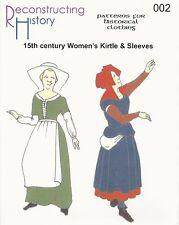Schnittmuster RH 002: 15th Century Women's Kirtle
