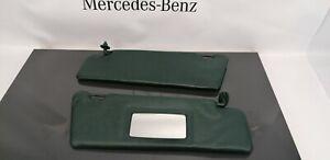 Mercedes Benz W124 S124 W201 Sun Visors Visor Left And Right Green nr6