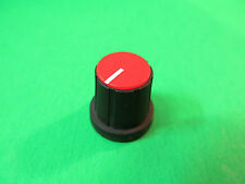Red Mixing Board Press On Potentiometer Knob From A Carvin MX1622 Mixer