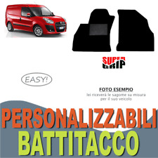 PER FIAT DOBLO' CARGO 2010> TAPPETINI AUTO SU MISURA MOQUETTE E BATTITACCO EASY
