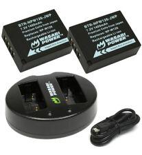 Wasabi Battery KIT for Fuji NP-W126 FUJIFILM X-E1 X-M1 FinePix HS33 HS35 EXR