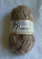 """1 Skein Patons """"Nuance"""" Bulky Acrylic Wool Mohair Blend in Marble Color"""
