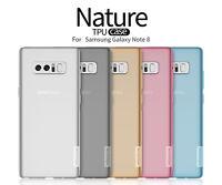 100%Nillkin Flexible Soft TPU Cover Fashion Clear Case For Samsung Galaxy Note 8