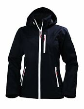 Helly Hansen W Crew Hooded Jacket Woman Color Navy Size L