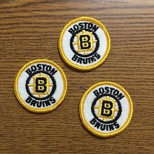 (3) Lot Of Boston Bruins Sew On Patches 2""