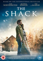 The Shack DVD (2017) Sam Worthington, Hazeldine (DIR) cert 12 ***NEW***
