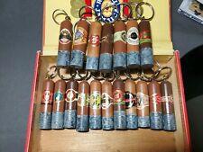 One Of A Kind Hand Made Cigar Keychain Arturo Fuente, Macanudo, Ashton, More!!