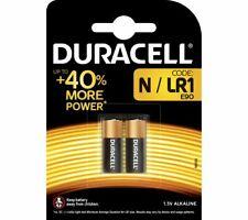DURACELL MN9100/LR1/KN N Alkaline Batteries - Pack of 2 - Currys