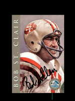 Bob St.Clair SGC Graded Gem Mint 10 1998 HOF Signature Series 49ers Autograph