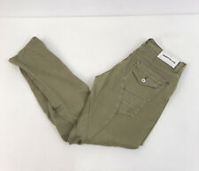 883 Police Picolino 'Letho' Twisted Carrot Fit Jeans Sage Green Mens 34W 32L