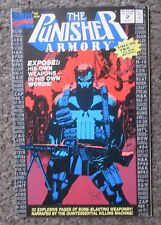THE PUNISHER ARMORY #2 1991 THE PUNISHERS WEAPONRY-NO ADS! VF/NM 9.0 OOP COMIC